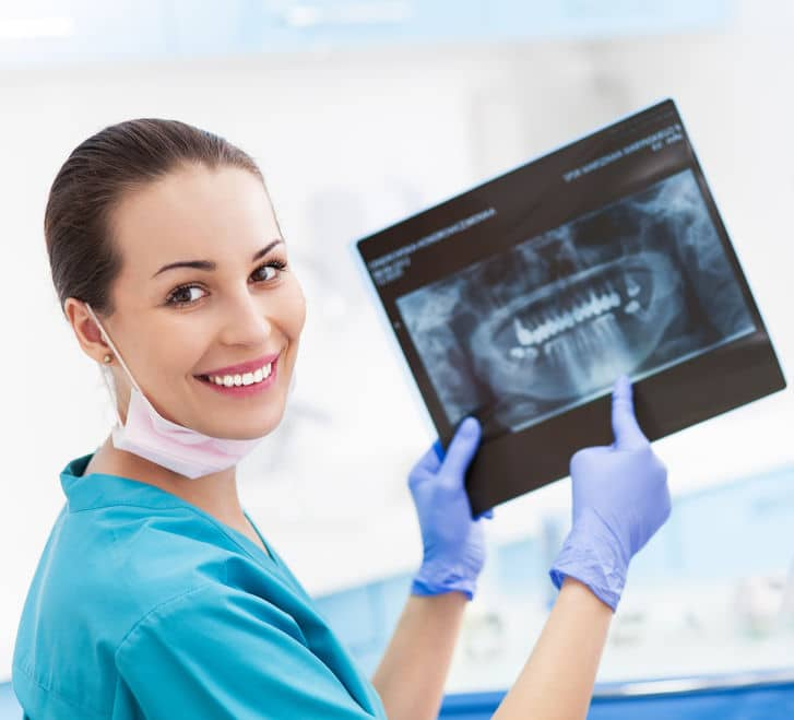 Common services offered in general dentistry